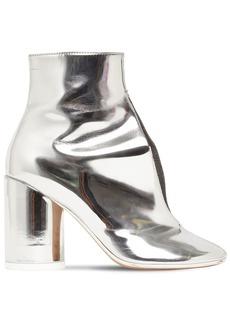 Maison Margiela 90mm Metallic Leather Ankle Boots