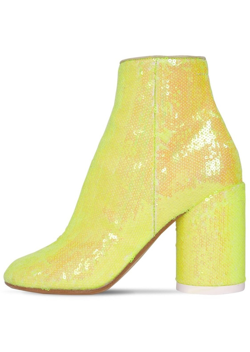 Maison Margiela 90mm Sequined Ankle Boots