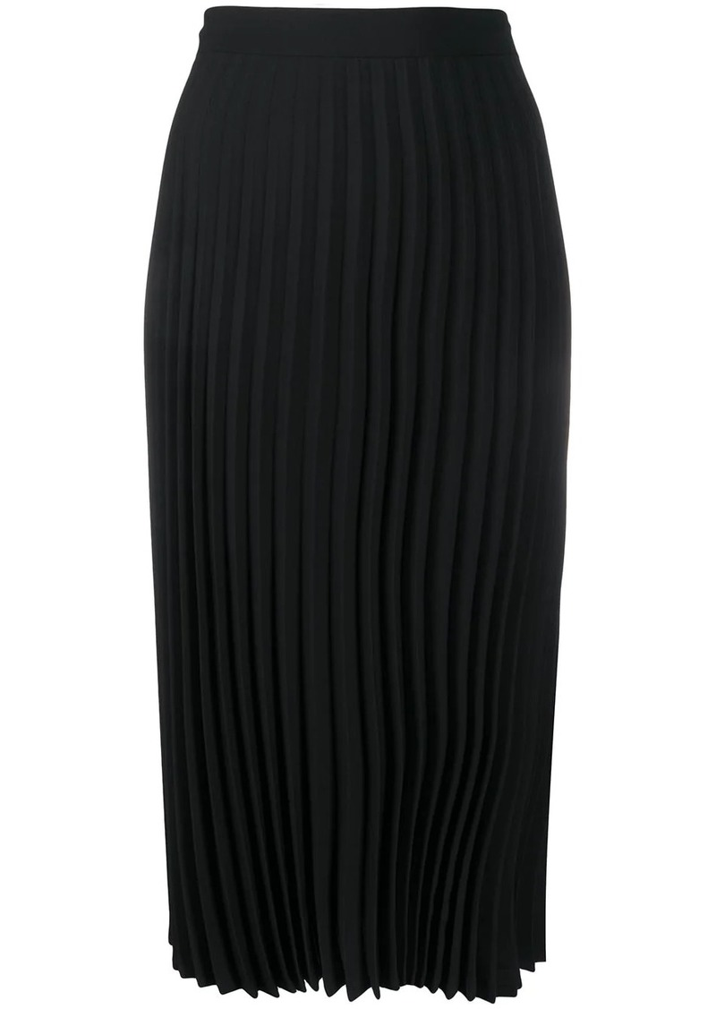 Maison Margiela accordion pleat midi skirt