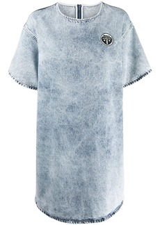 Maison Margiela acid-wash denim dress