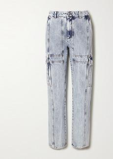 Maison Margiela Acid-wash High-rise Straight-leg Jeans
