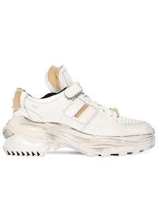 Maison Margiela Artisanal Low Top Leather Sneakers