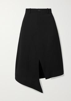 Maison Margiela Asymmetric Crepe Skirt