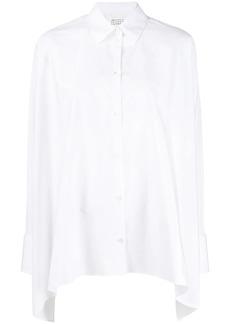 Maison Margiela asymmetric hem shirt