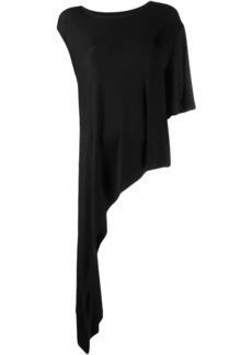 Maison Margiela asymmetric jersey top