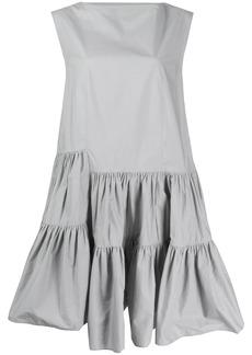 Maison Margiela asymmetric ruffle dress