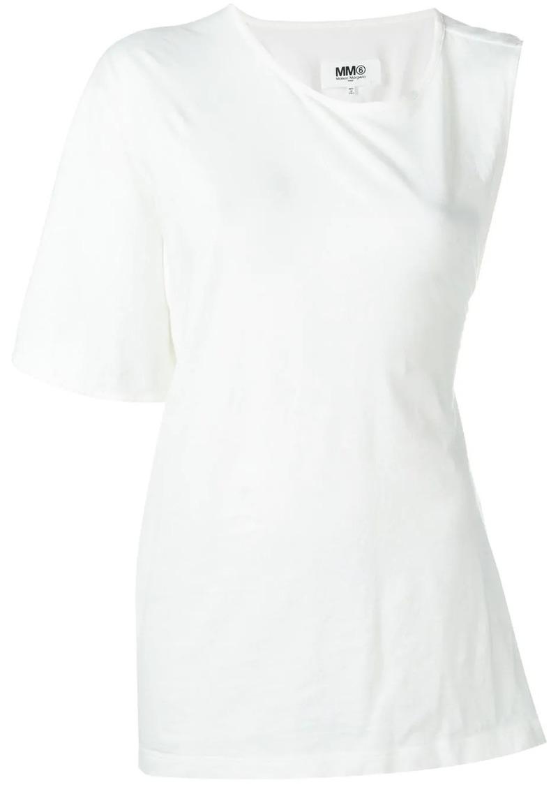 Maison Margiela asymmetric T-shirt