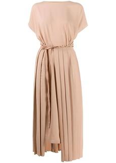 Maison Margiela asymmetric tie waist dress
