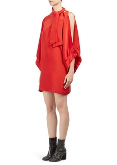 Maison Margiela Asymmetrical Silk Dress