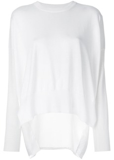 Maison Margiela back panel jumper