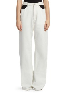 Maison Margiela Baggy Cut-Out Pants