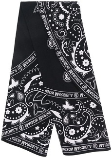Maison Margiela bandana-print scarf