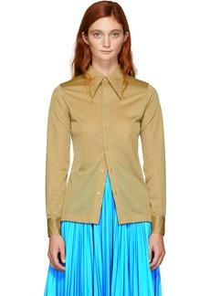 Maison Margiela Beige Jersey Shirt