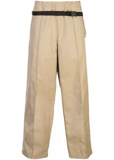Maison Margiela belt bag detail trousers