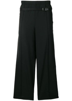Maison Margiela belted straight leg trousers