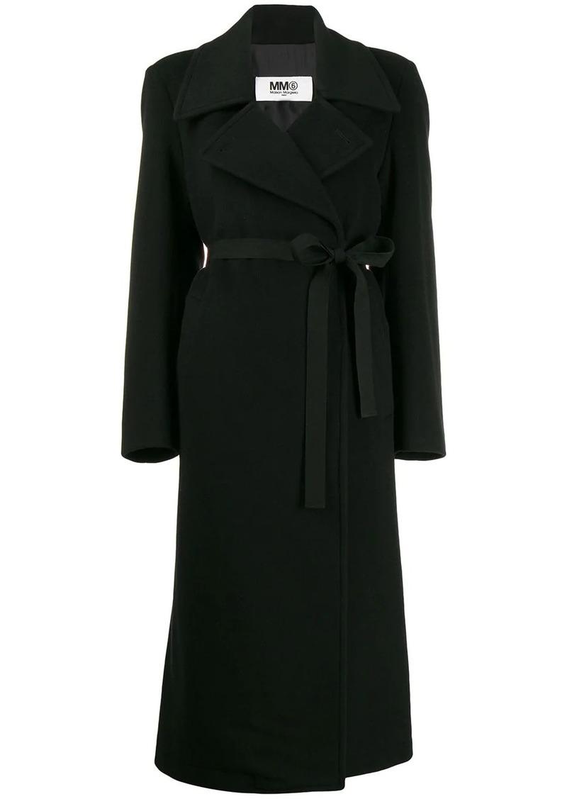 Maison Margiela belted wool coat