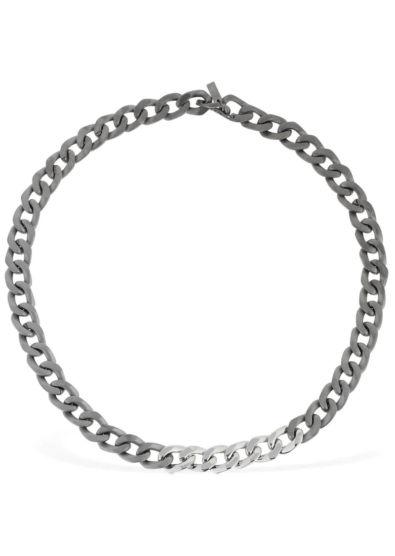 Maison Margiela Bicolor Chain Necklace