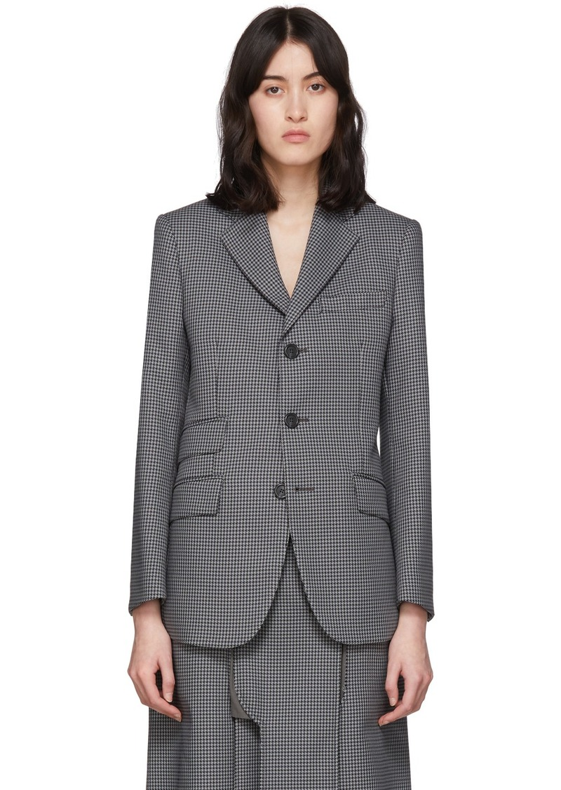 Maison Margiela Black & Grey Double Pocket Blazer