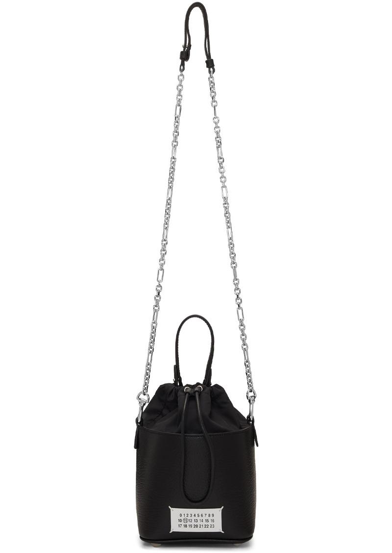 Maison Margiela Black 5AC Bucket Bag