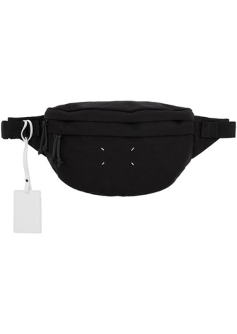 Maison Margiela Black Canvas Bum Bag