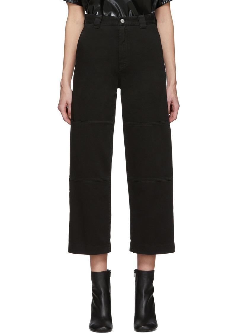 Maison Margiela Black Flare Jeans