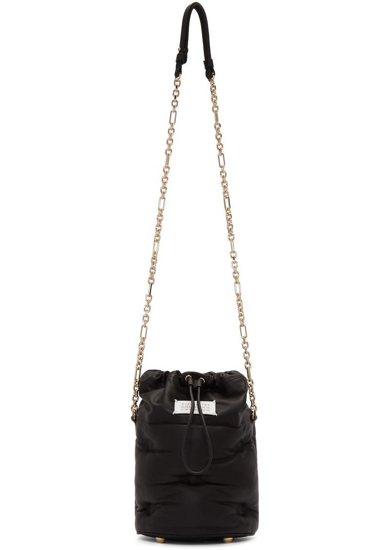 Maison Margiela Black Glam Slam Bucket Bag