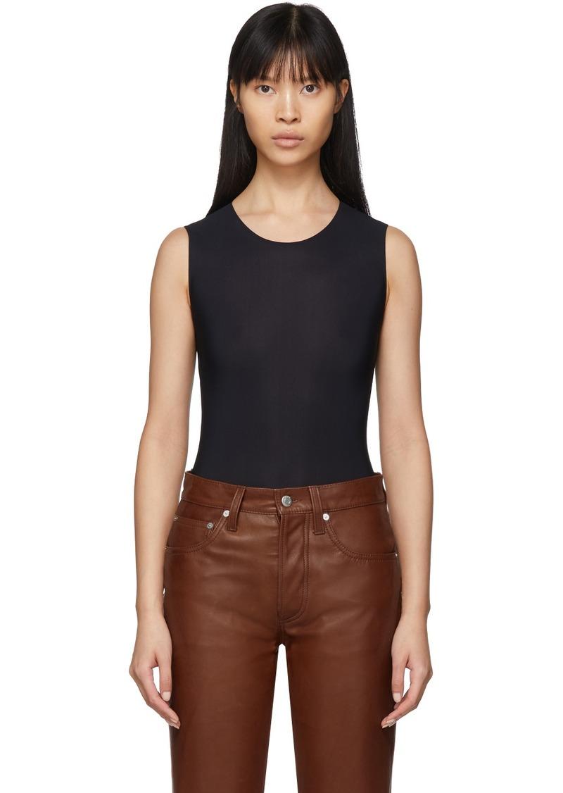 Maison Margiela Black Jersey Sleeveless Bodysuit