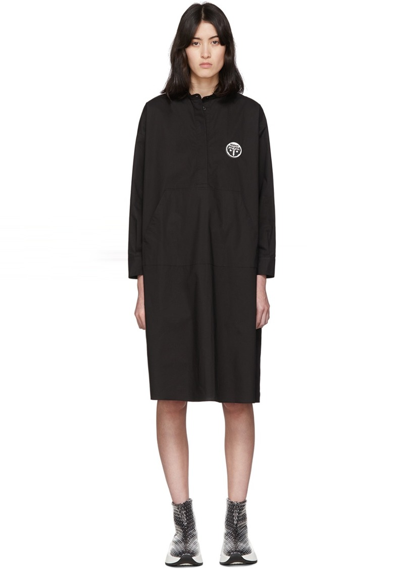 Maison Margiela Black Kangaroo Pocket Dress