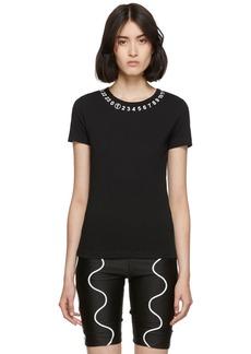 Maison Margiela Black Logo Collar T-Shirt