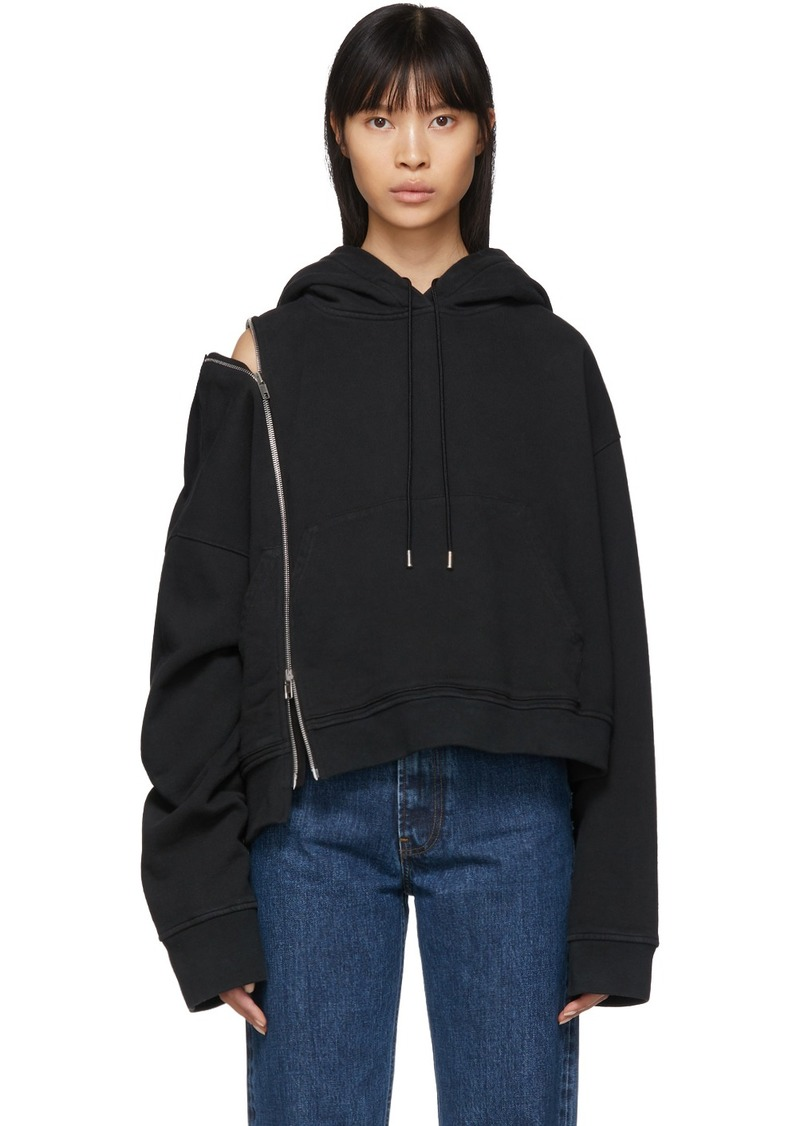 Maison Margiela Black Multi-Wear Zip Hoodie