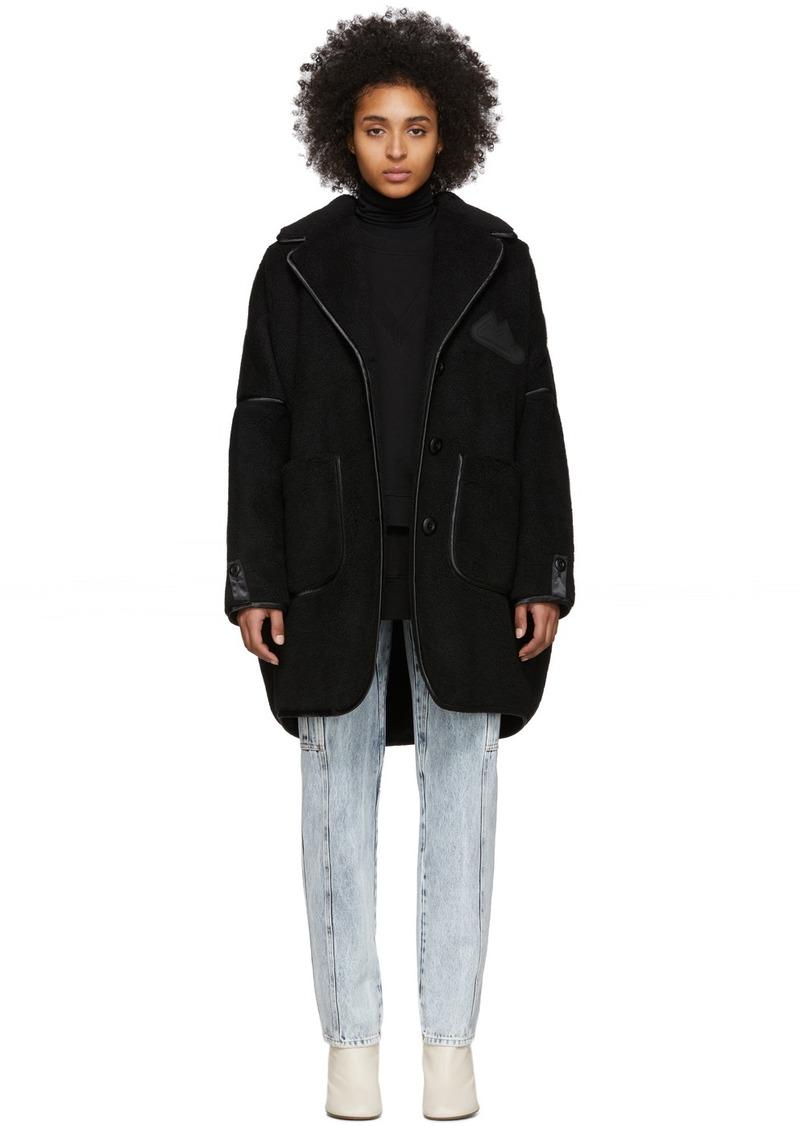 Maison Margiela Black Sartorial Oversized Coat