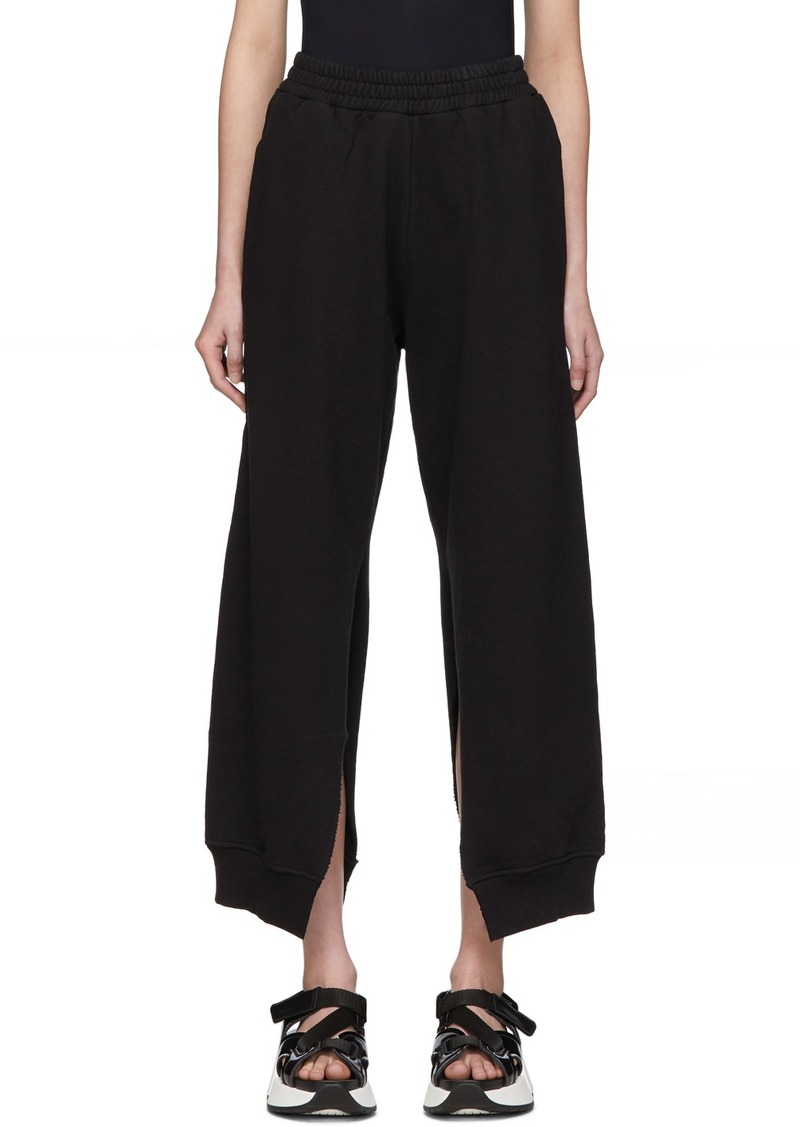 Maison Margiela Black Split Seam Lounge Pants