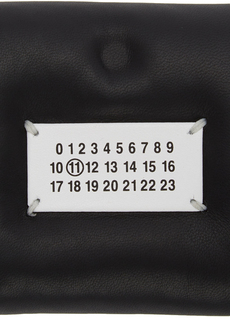 Maison Margiela Black Square Glam Slam Wallet