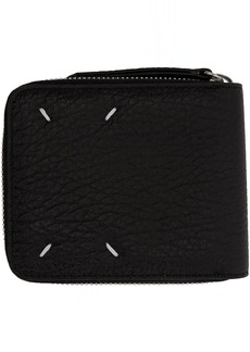Maison Margiela Black Square Zip Wallet