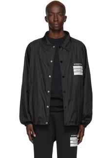 Maison Margiela Black 'Stereotype' Coach Jacket