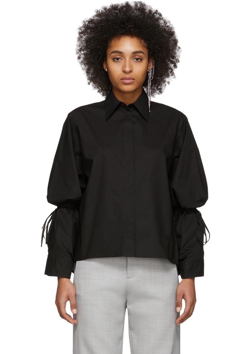 Maison Margiela Black String Shirt