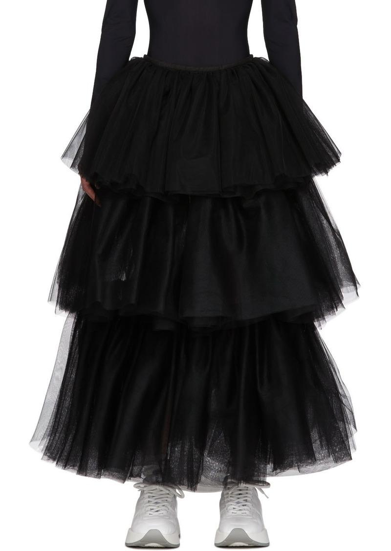 Maison Margiela Black Tulle Skirt