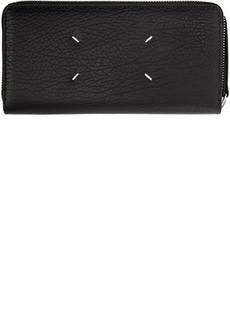 Maison Margiela Black Zip Around Wallet