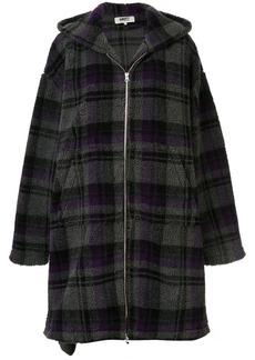 Maison Margiela blanket oversized coat