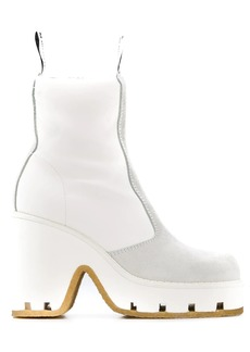 Maison Margiela block heel boots