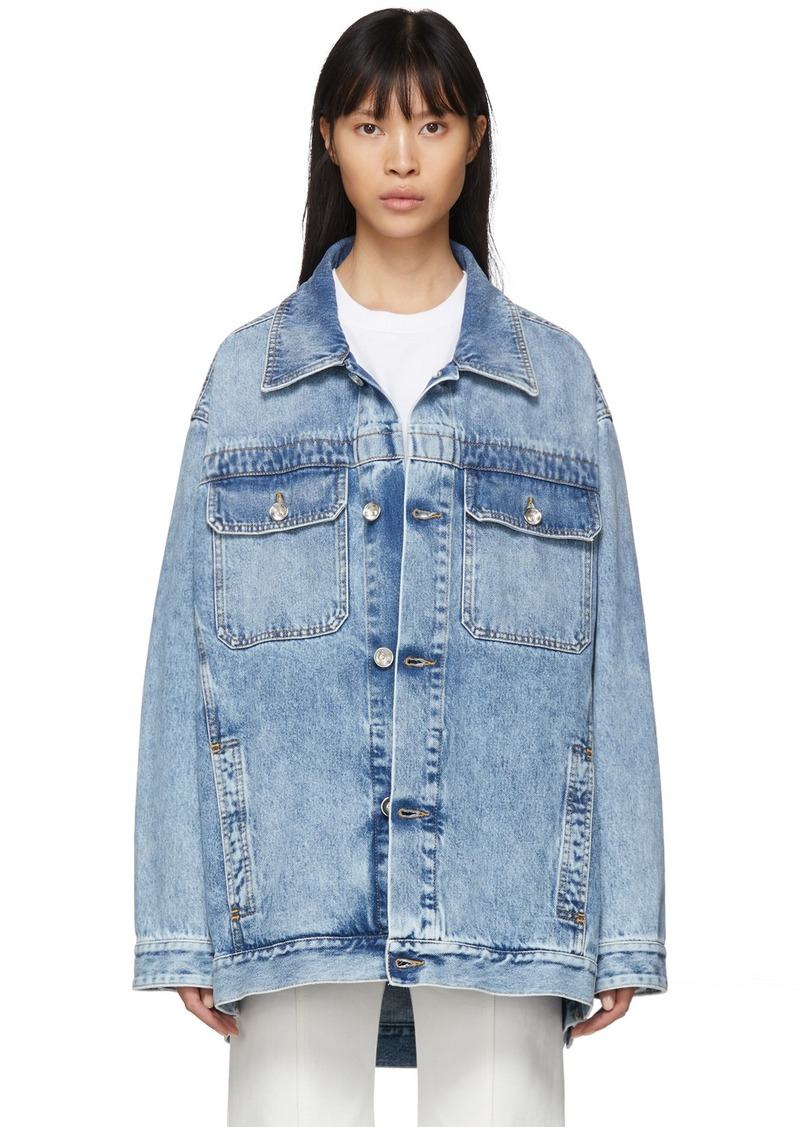 Maison Margiela Blue Boxy Denim Jacket