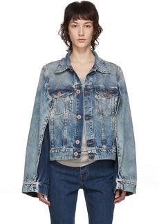 Maison Margiela Blue Denim Double Arm Jacket
