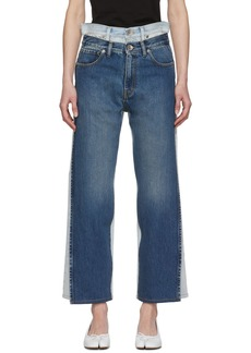 Maison Margiela Blue Double Jeans