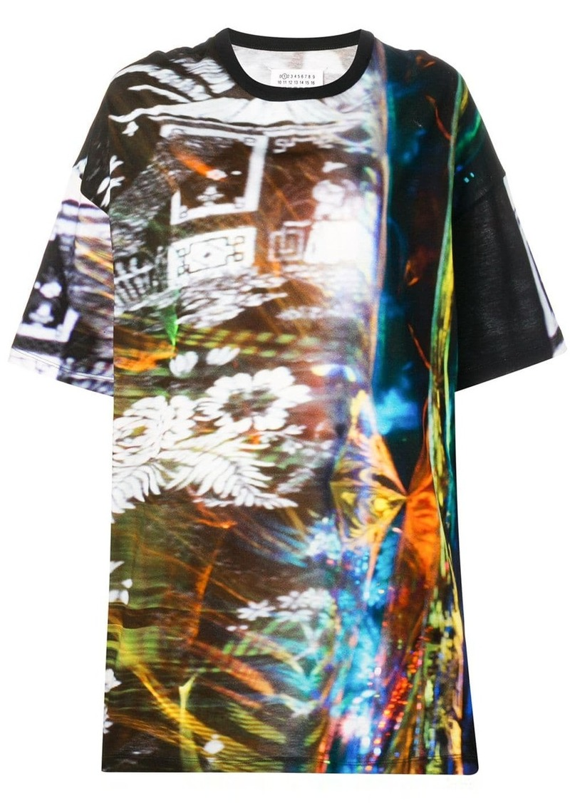 Maison Margiela blurred print T-shirt