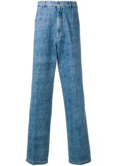 Maison Margiela brushed denim jeans