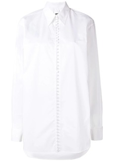 Maison Margiela buttoned graphic shirt