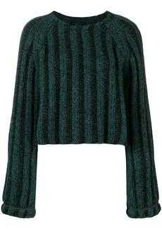 Maison Margiela cable knit sweater