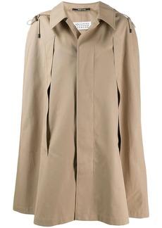 Maison Margiela cape style trench coat