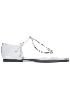 Maison Margiela circular strap sandals