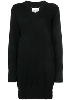 Maison Margiela classic fitted sweater dress